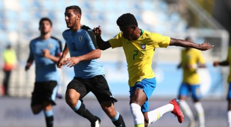 Pelo Sul-Americano Sub-20, Seleção Brasileira é superada pelo Uruguai