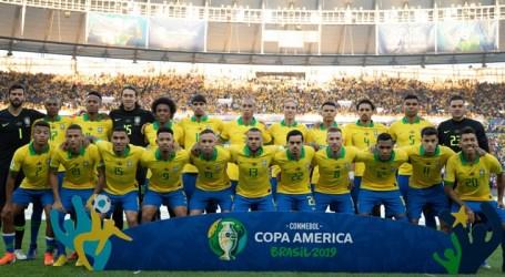 Seleção brasileira cai para 3ª posição no ranking da Fifa