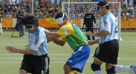 Futebol de 5 do Brasil chega invicto a Lima