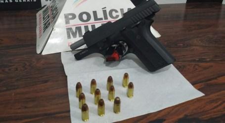 Homem é preso em Divinópolis com pistola e munições, após denúncias