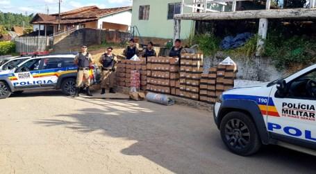 Homem suspeito de receptação é preso com grande quantidade de produtos de beleza em Córrego Danta