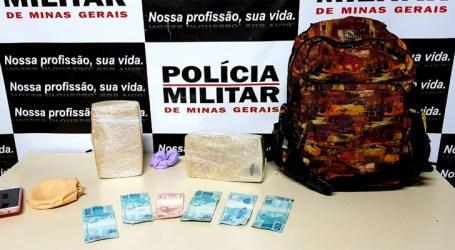 Mulher é presa com mais de dois quilos de crack na rodovia BR-262 em Luz