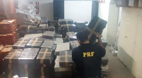 PRF apreende mais de 4,6 toneladas de maconha no Paraná