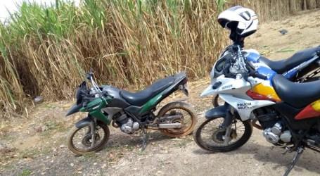 PM recupera em Papagaios moto furtada em Belo Horizonte