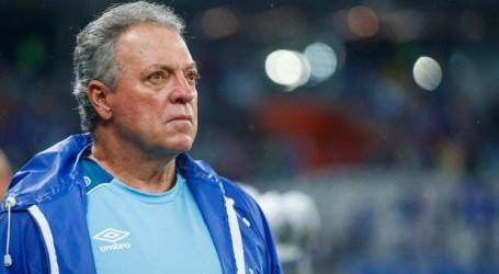 Abel Braga lamenta resultado do Cruzeiro em casa