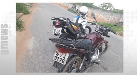 Adolescente que conduzia motocicleta na contramão da BR-262 é apreendido; passageiro foi preso