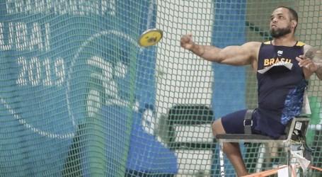 Claudiney Batista é ouro no Mundial de Atletismo Paralímpico