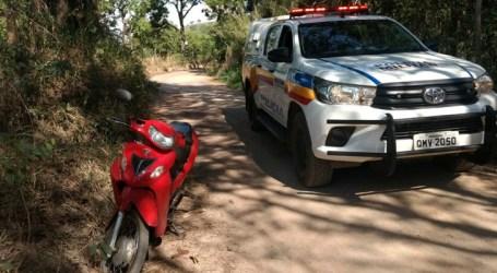 Moto roubada na Rua Nova Serrana é localizada em Limas de Pará de Minas, após denúncia anônima