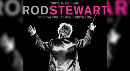 """You're in My Heart"" celebra 50 anos de Rod Stewart em carreira solo"