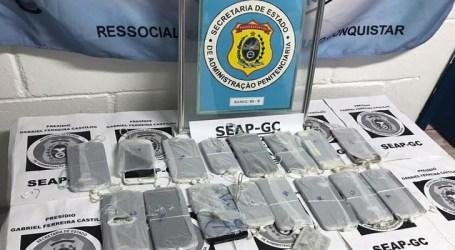 Operação apreende 24 aparelhos celulares em unidade prisional do Rio