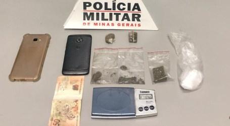 Denúncias anônimas levam PM à apreensão de drogas e prisão de traficante em Ascensão