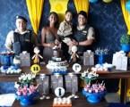 Militares participam da festa de aniversário de garoto admirador da PM em Maravilhas
