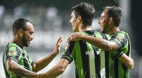 Coelhão vence o Coimbra e assume a liderança do Mineiro