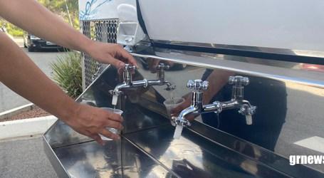 """Águas de Pará de Minas adquire novo """"Pipinha"""" para distribuir água tratada durante eventos populares"""
