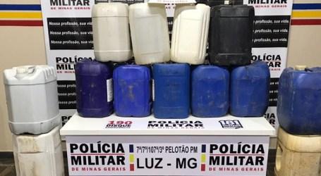 Córrego Danta: presos suspeitos de furto de combustível e receptação