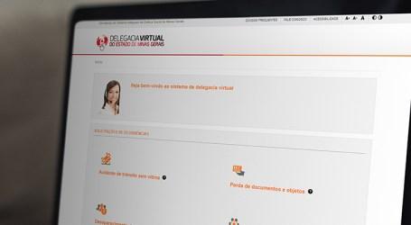 Vítimas de violência doméstica podem registrar boletim de ocorrência através da Delegacia Virtual em MG