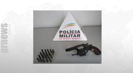 Denúncias levam PM a arma de fogo sem registro em Leandro Ferreira