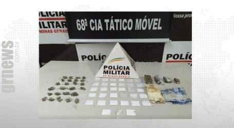 Após denúncias PM localiza cocaína e maconha em Nova Serrana