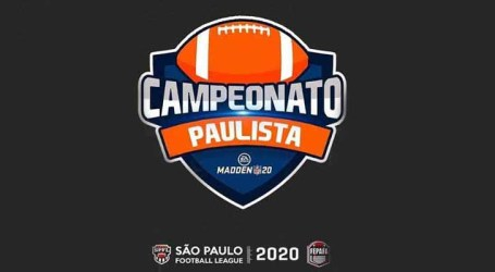 Federação Paulista de Futebol Americano realiza competição virtual