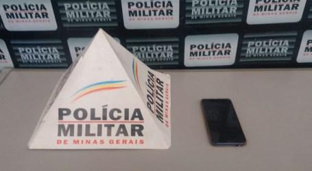 PM recupera celular furtado dentro de veículo no São José