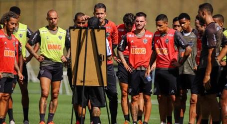 Galo treina para retomada do Mineiro e início do Brasileirão