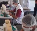 Jovens produzem máscaras de proteção contra o coronavírus no Centro Socioeducativo de Patrocínio