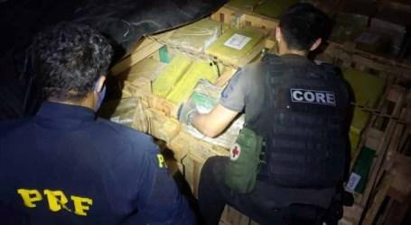 PRF apreende cinco toneladas de maconha no Rio