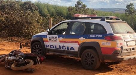 Motocicleta é recuperada após roubo em Abaeté
