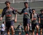 Galo treina para estreia no Brasileirão