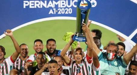 Salgueiro bate Santa Cruz e conquista o Campeonato Pernambucano