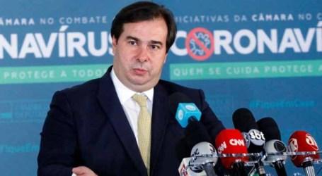 Rodrigo Maia defende retomada das agendas de reforma no Congresso