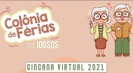 CRAS promove colônia de férias com atividades virtuais para idosos durante o mês de janeiro