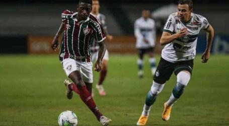 Coritiba e Fluminense empatam pelo Brasileirão