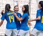 Brasil vence o Canadá em despedida de torneio nos EUA