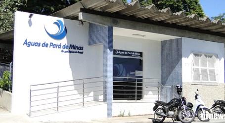 Águas de Pará de Minas promove campanha de regularização de débitos