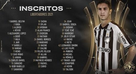 Galo divulga lista de inscritos para a Libertadores