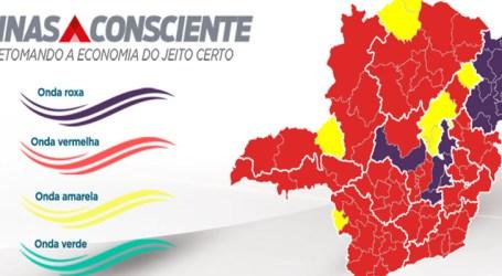 Pará de Minas avança pra onda vermelha junto com macrorregiões Centro, Centro-Sul, Leste, Leste do Sul, Oeste e Vale do Aço