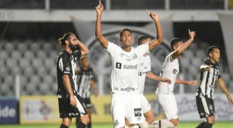 Santos vence; Botafogo e Palmeiras empatam no Paulistão