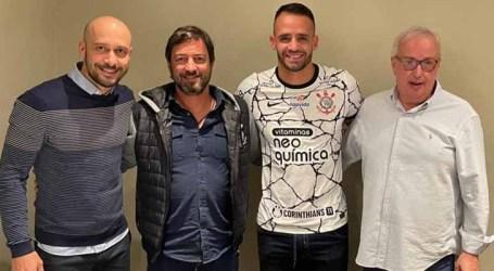 Renato Augusto está de volta ao Corinthians