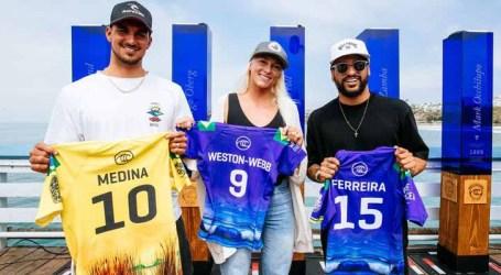 Surfe: etapa da Califórnia do WSL Finals começa com Brasil favorito