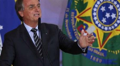 Bolsonaro diz que liberdade de imprensa tem defeitos, mas deve persistir