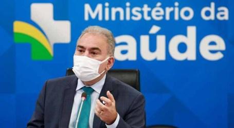 Ministro relata eventos adversos em adolescentes vacinados contra a Covid-19