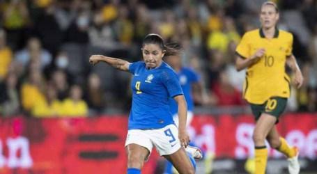 Seleção brasileira feminina arranca empate em amistoso contra a Austrália