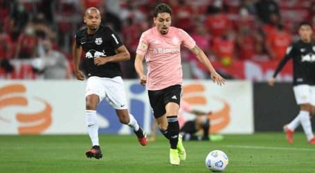 Bragantino marca nos acréscimos e arranca empate com o Internacional no Beira-Rio
