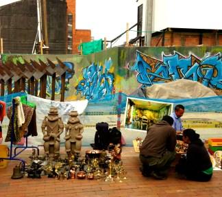 Street graffiti. Usaquen, Bogota