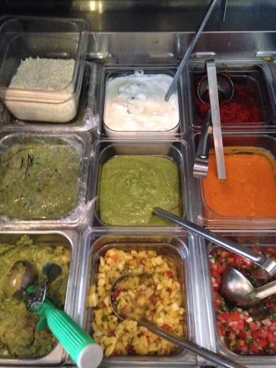 Preparing ingredients - The toppings