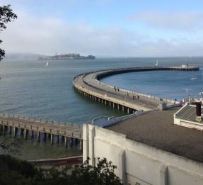 Fort Mason, San Francisco walk, Aquatic park pier