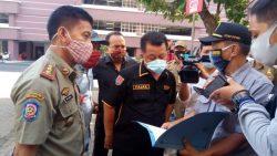 Satpol PP Kota Semarang bersama Tim Gabungan Gelar Operasi Prokes di Komplek Balai Kota, Tiga Non ASN dan 1 ASN Tertangkap Tak Kenakan Masker