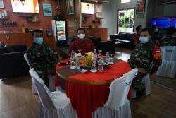 Peringati Natal, AKBP Edwin Louis Sengka Terima Kunjungan Dandim 0736/Batang