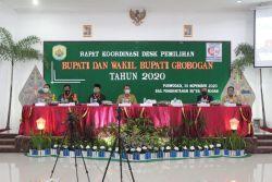 Pjs Bupati Grobogan Pertegas Pentingnya Sinergitas, Kebijakan Strategis Harus Disepakati dalam Penyelenggaraan Pilkada di Tengah Pandemi Covid-19
